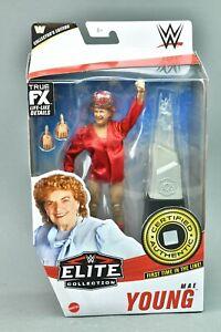 WWE Wrestling Mattel Elite Series 81 Mae Young Figure Legends Flashback
