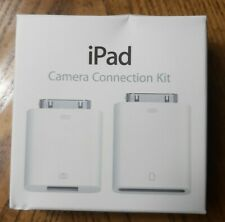 Genuine Apple iPad Camera Connection Kit MC531ZM/A (A1362 & A1358) NEW - SEALED
