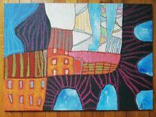 Signed Painting on Hardboard Panel ARTA Galerie Konstantin GRABOWSKI