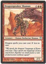 DRAGONSPEAKER SHAMAN X1  MAGIC Mtg - ARCHENEMY - LIGHTLY PLAYED (LP)