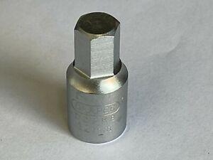 """Draper DDPK8 12mm Hex 3/8"""" Drive Socket Drain Plug Key 38326"""