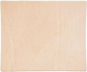 "Veg-Tan Leather 12""x12"" 7/9 Oz. (2.8-3.6 mm) Full Grain Tooling Leather"