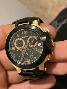 Tissot T-Race Black/Gold Men's Watch
