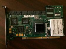 LSI SER523 REV B2 PCI-X SATA 6 Ports RAID Controller Card, with battery