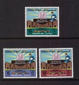 Iraq 1979 Teachers' Day set MNH mint stamps