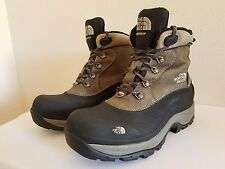 The North Face Men's 8 Waterproof Insulated Snow Hiking Boots Winter Grip Sole