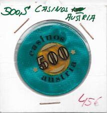 500 Schilling Casinos Austria Jeton Token ----  Eiamaya