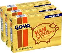 Goya Ham Flavor Seasoning 3.52 oz Econo Pak (Pack of 3)