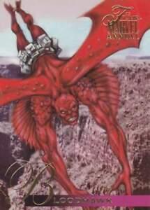 Trading card Flair Marvel Annual - Bloodhawk (102)