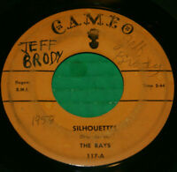 """The Rays Silhouettes / Daddy Cool 7 """" 45 rpm Cameo 117 Surf Doo Woop 1957 VG Oop"""