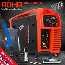 MIG Welder Inverter Gas / Gasless MMA 3-in-1 IGBT 240V 200 amp DC - ROHR 05