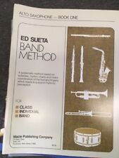 ED SUETA BAND METHOD ALTO SAX BOOK 1