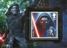 Star Wars Masterwork 2016 Bronze Royal Mail Stamp Card [99] Kylo Ren
