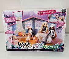 Moxie Girlz Girls Bratz Magic Snow Cabin Play-set House Mint in box