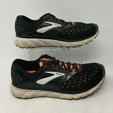 Brooks Glycerin 16 Sneaker Athletic Running Shoes Lace Up Black Orange Mens 9.5M