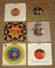 ROCK LOT 6 RECORDS 45 RPM ROLLING STONES FOGHAT DOOBIE BROTHERS BAD COMPANY VG+