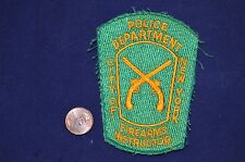 NEW YORK POLICE FIREARMS INSTRUCTOR SHOULDER PATCH NY BOARDER-LESS NYPD