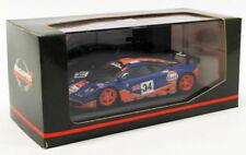 Voitures de courses miniatures en métal blanc McLaren