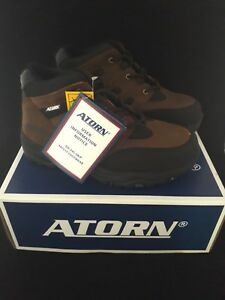 ATORN  4001 Brown Safety work trainers boots SIZE 8  ST/SMS