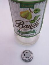 BEER BOTTLE Crown CAP ~ BANDI Foods Sparkling Pear Juice Soft Drink ~ LITHUANIA
