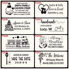 Personalized Business Hen Chicken Farm Fresh Eggs Return Address Rubber Stamp Ad