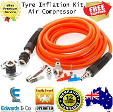 Tire Inflation Kit Air Compressor ARB Dust Free Air Chuck Int Bearings 20ft Hose