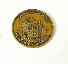 Vintage Town Of Franklinville NY Coin 1974