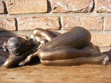 Bronzeskulptur Frau ~ UNSCHULD ~ Figur von Veronese ~ BRONZIERT ~ NC15