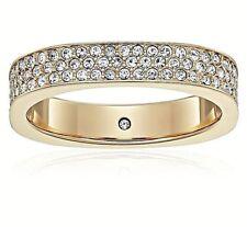 NWT Michael Kors Ring GOLD Pave Crystal Brilliance Size 9 MKJ5525 MKJ5525710 $85