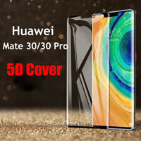 For Huawei Mate 30 Pro / Mate 20 5D Curved Tempered Glass Screen Protector Film