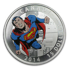 2014 Canada Silver Iconic Superman™ Comic Book Covers (#419) - SKU #85122