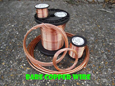 Bare unplated uncoated SOFT COPPER WIRE 1.6mm  14 gauge 1kg -  99.95% PURITY