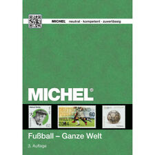 "Catalogue Michel de cotation timbres thématiques ""Football""."