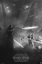Star Wars Force Awakens Variant Alt Movie Poster Karl Fitzgerald No./50 NT Mondo