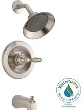 Shower Faucet Set Brushed Nickel With Valve 1 Handle Bath Tub Hardware Fixtures