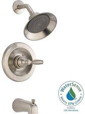 Shower Faucet Set Brushed Nickel With Valve 1 Handle Bath Tub Hardware Fixtures