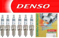Set of 6 DENSO Iridium Power Spark Plug's A3 TT Eos Golf  R32 Touareg NEW