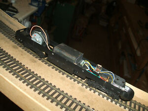 LIMA SUPERPOWER DCC HST CHASSIS #2.