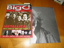 Big O Magazine #127 July 1996 Metallica Cov Patti Smith Poster Cowboy Junkies FN