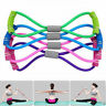 Stretch Band Rope Latex Rubber Arm Resistance Fitness Exercise Pilates Yoga Gym