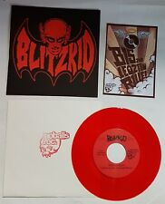 Blitzkid / The Cryptkeeper Five RED Vinyl Black + Red Sleeve 7'' Record