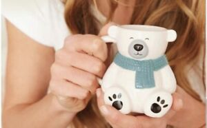 AVON Colour Changing Teddy Bear Mug 2021 - Add Hot Drink to Change Paws/Nose NEW