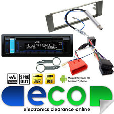 AUDI a4 00-05 b6 JVC CD mp3 USB AUX posteriore BOSE sistema car stereo UPGRADE KIT
