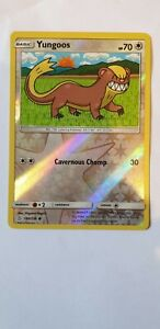 YUNGOOS 180/236 2019 REVERSE HOLO COMMON SM UNIFIED MINDS POKEMON CARD