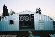 DuroSPAN Steel 32x48x18 Metal Garage Building Boat & RV Storage Factory DiRECT