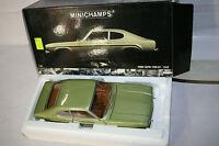 FORD CAPRI 1700 GT 1969 LIGHT GREEN MET. VERDE CHIARO 1:18 MINICHAMPS 180 08900