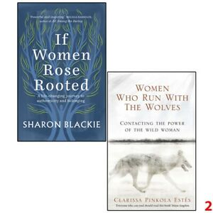 If Women Rose Rooted & Women Who Run With The Wolves 2 Books Collection Set NEW
