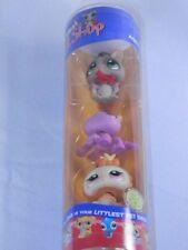 Littlest Pet Shop  Halloween Set 430 431 432 Spider Owl Sugar Glider w Cape New