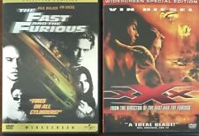 The Fast and the Furious/Xxx - Double Feature (Dvd, 2002)*Vin Diesel Paul Walker