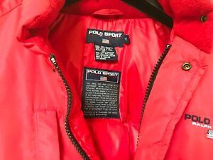 Polo sport red Jacket Medium Down (genuine) used